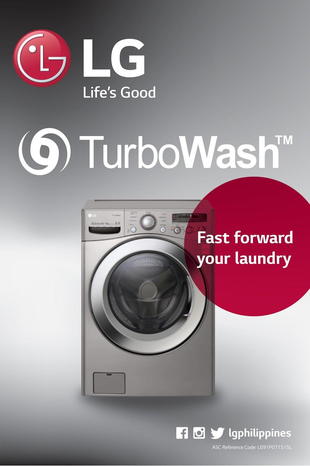LG Turbo Washers