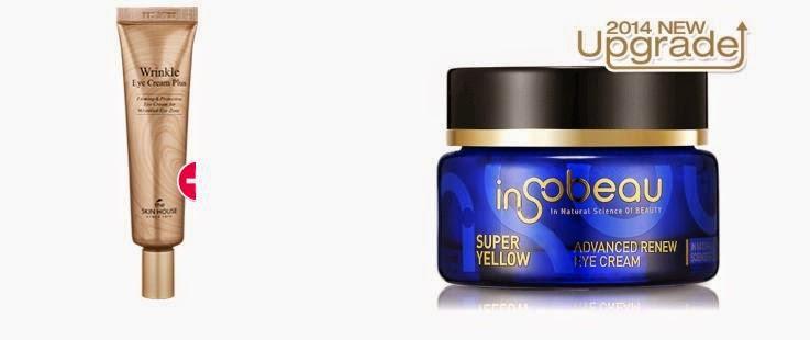 The Skin House Wrinkle Eye Cream Plus & insobeau Super Yellow Set