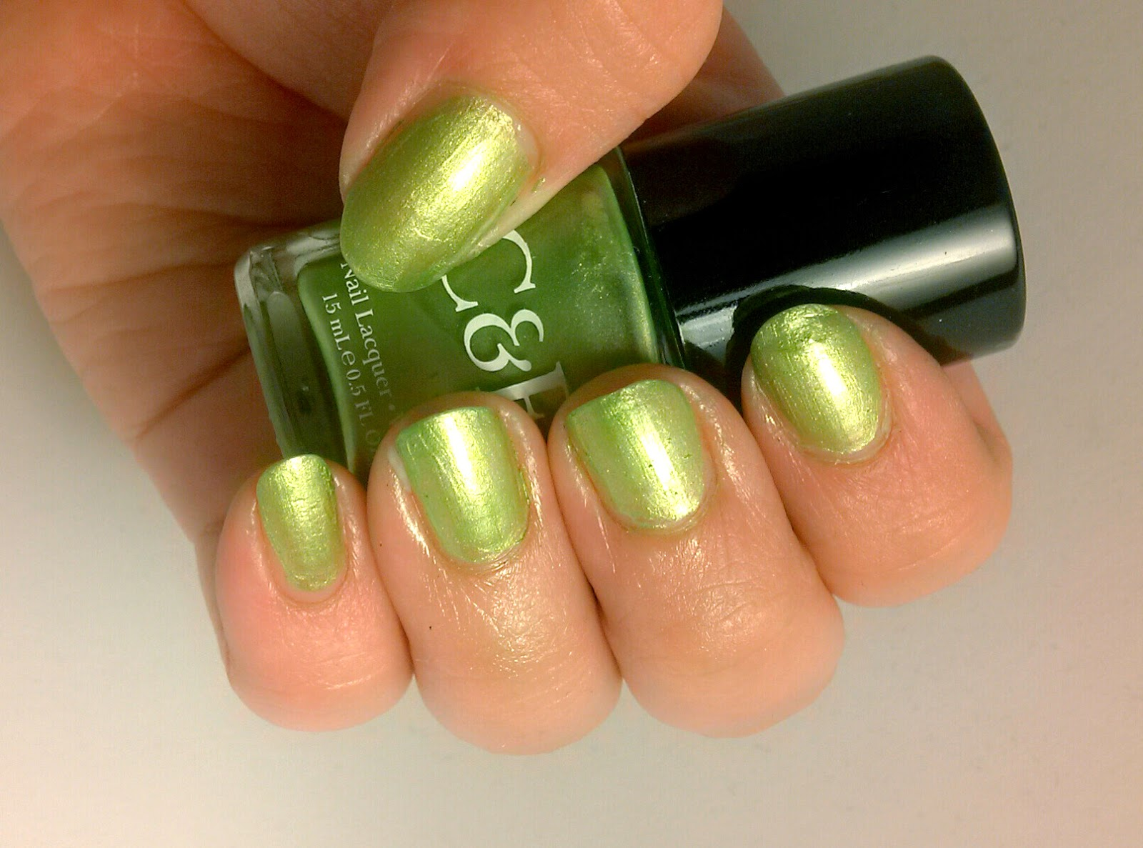 Nail Lacquer and Lip Sticks: Crabtree & Evelyn - Pistachio