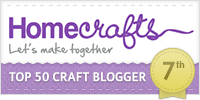 HomeCrafts Top Ten Craft Blogger
