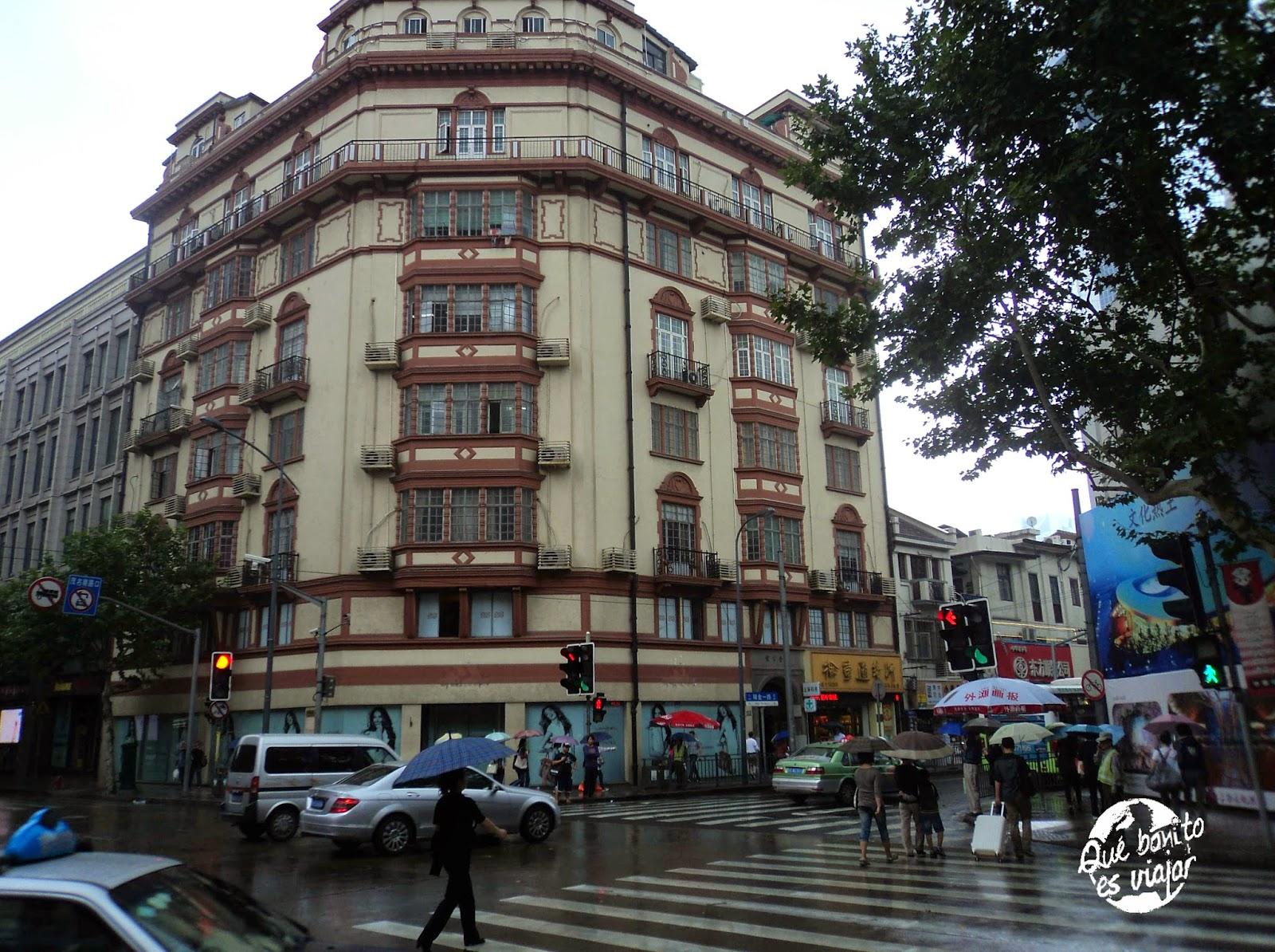 La concesión francesa de Shanghai