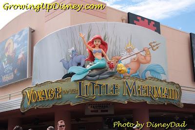 Voyage of the Little Mermaid signs Growing Up Disney