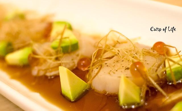 Hotate Carpaccio Kirishima Japanese Restaurant Cititel Penang