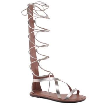 Anacapri look verão 2016 gladiadora dourada