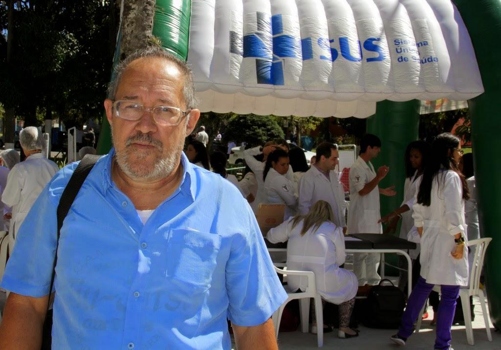 """Armindo Coelho, presidente de Associação de Moradores da Granja Guarani: """"A população só tem a ganhar"""""""