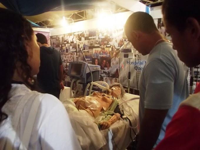 Hospital Universitário utiliza bonecos para desmistificar procedimentos médicos