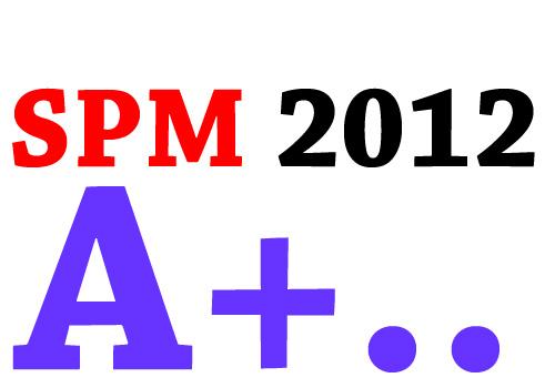 481 Dapat 'A+' Semua Subjek SPM 2012