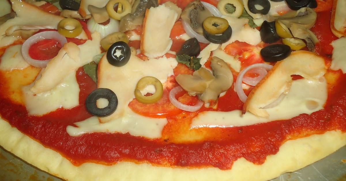 Pizza Elaboraci N Paso A Paso Tamalito Pisque