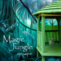 Magic Jungle Escape Solucion