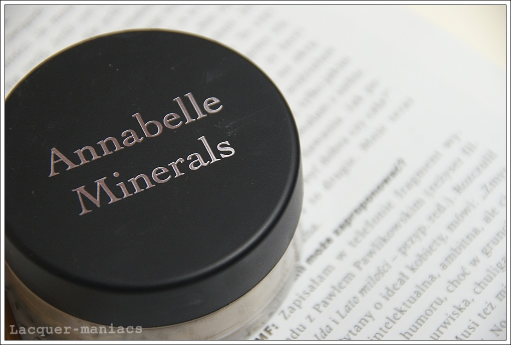 Annabelle Minerals, korektor Medium + pędzelek do korektora