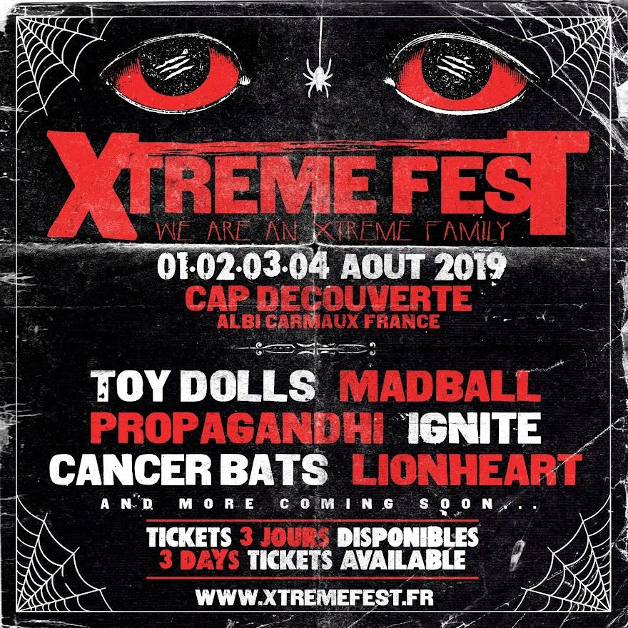Partenaire du Xtreme Fest 2019