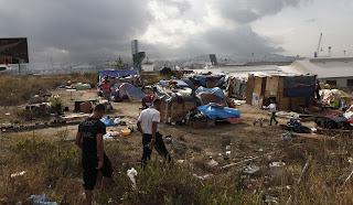 les roms à NICE dans MEDECINE campement-rom