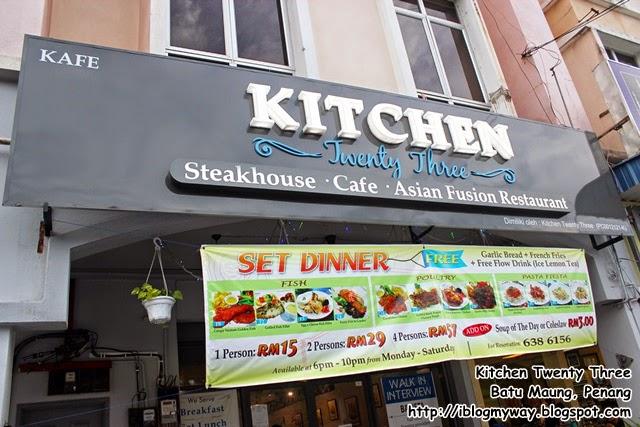 Kitchen Twenty Three @ Batu Maung Penang