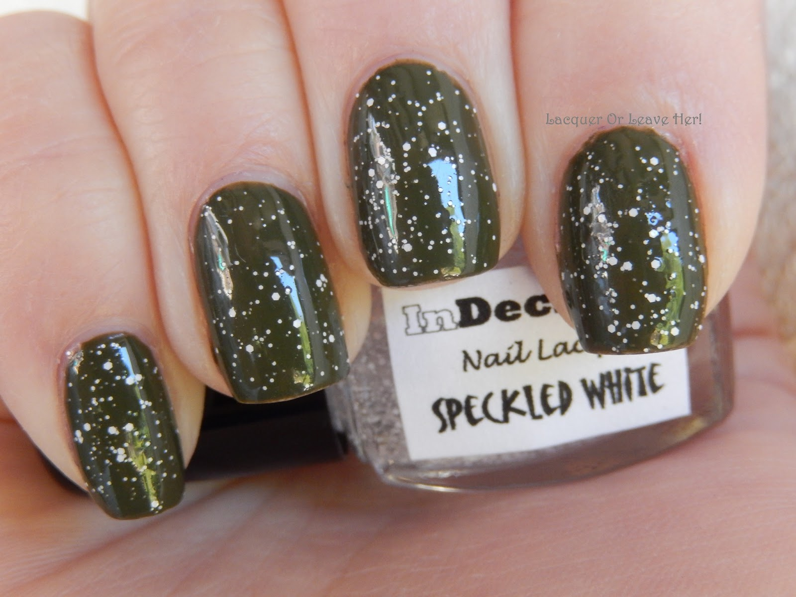 Lacquer or Leave Her!: Review: InDecisive Nail Lacquer (Black and ...