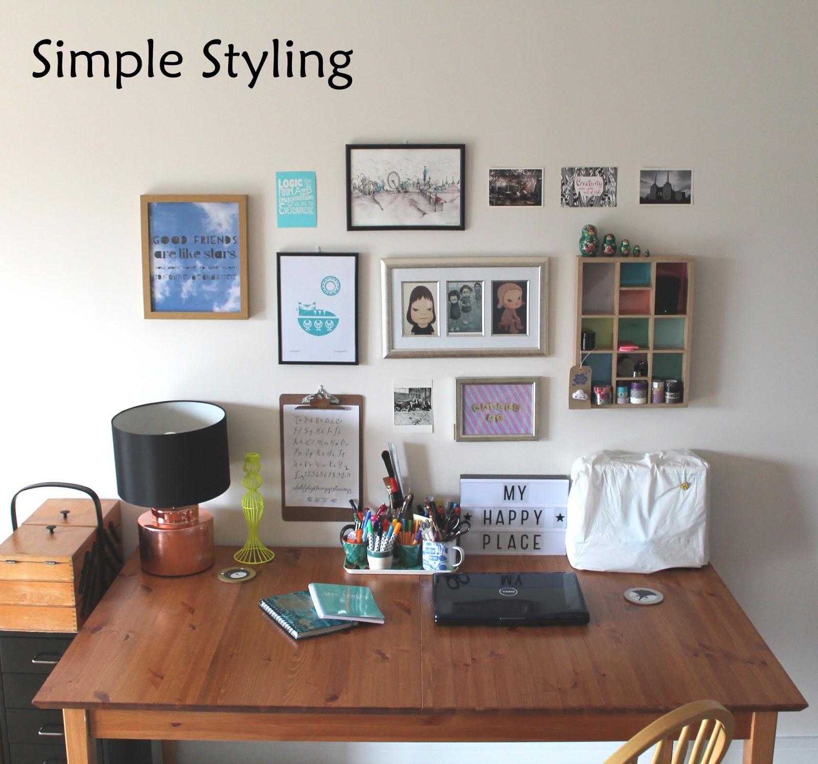 Live It Love It Make It Simple Styling Workspace