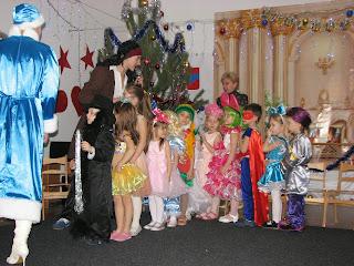 новогодние утренники детский садик Островок
