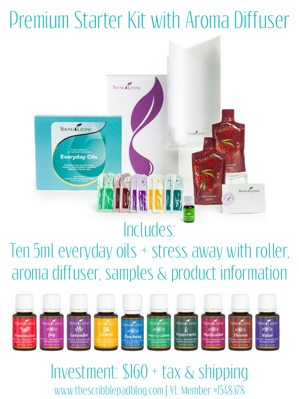 The Scribble Pad Young Living Essential Oils