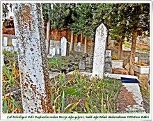 Damadı Abdurrahman DEDA' nın Mezarı