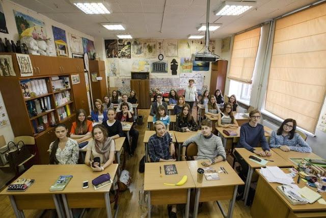Moskova'da bir okul