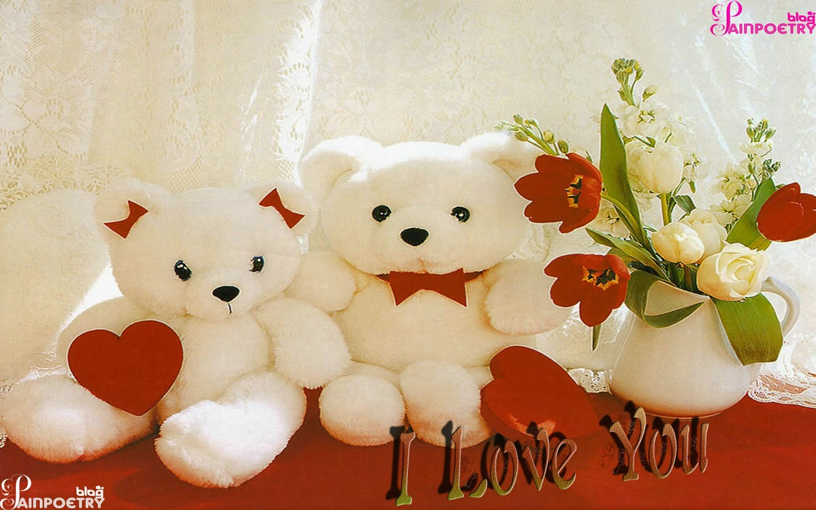 Love-Wishes-Image-Photo-Wallpaper-With-Teddy-Bears-HD-Wide