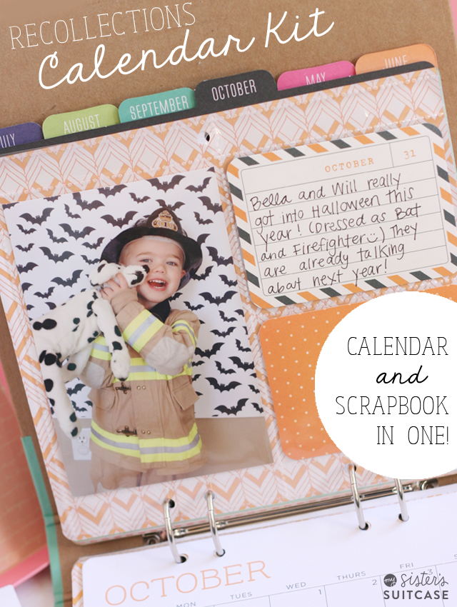 Recollections Calendar Kit Great Gift Idea My Sisters Suitcase