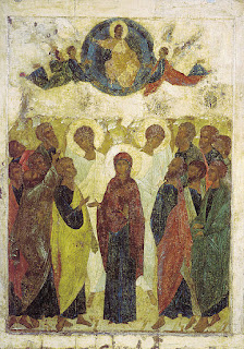 Andrei Rublev, 1408,Feast of the Ascension