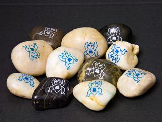 石に印刷(助太力くん)