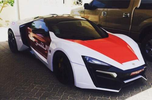 Masina Politiei din Abu Dhabi