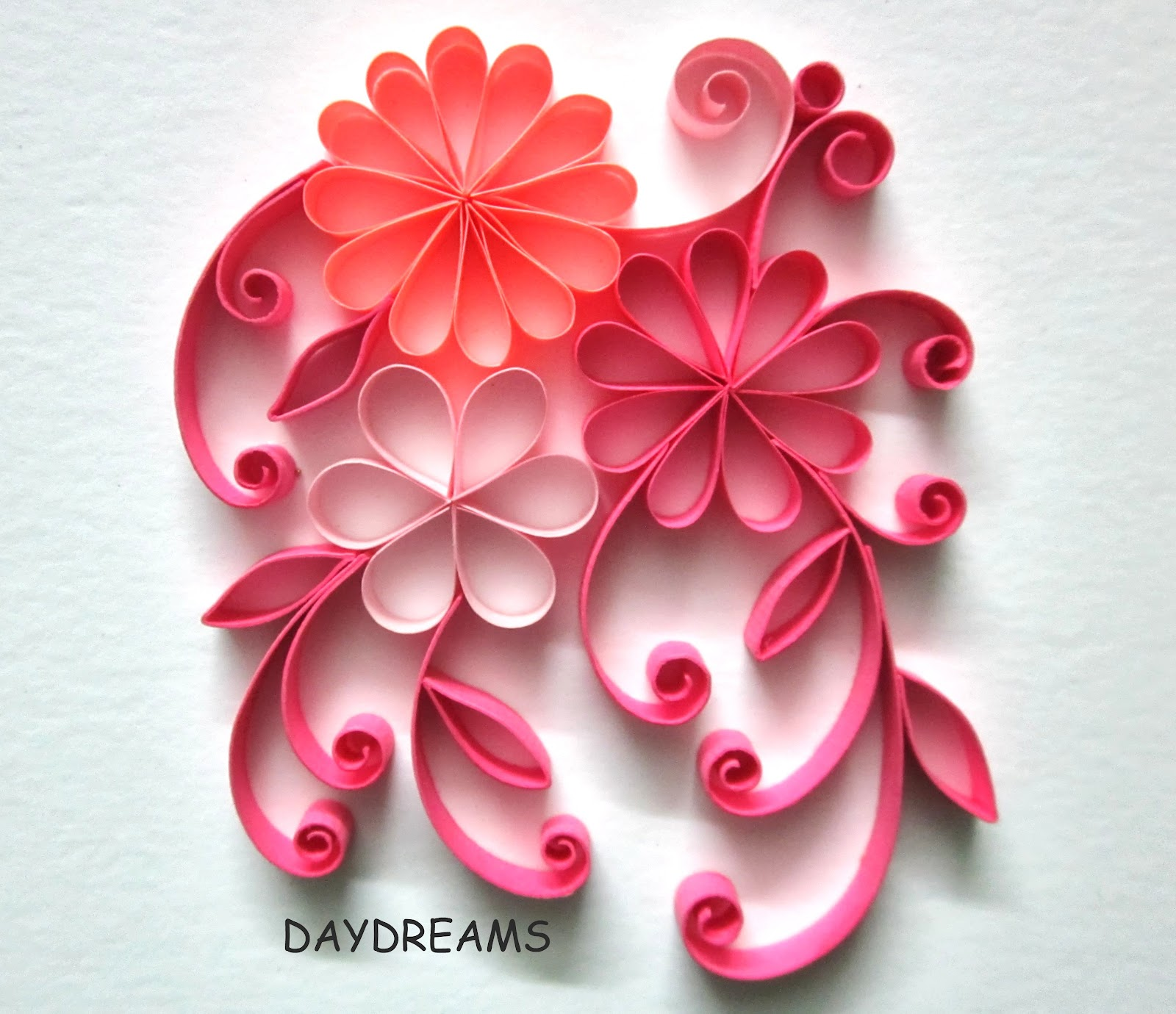 Daydreams may 2013 for How to quilling designs