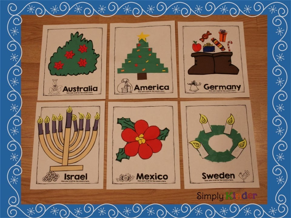 holidays around the world for kinder and first simply