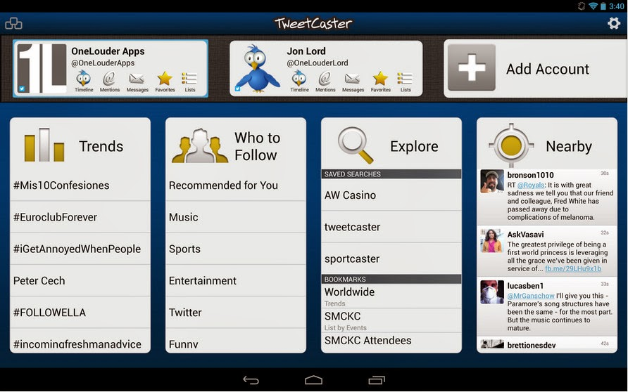 TweetCaster Pro For Twitter 8.3.0 APK