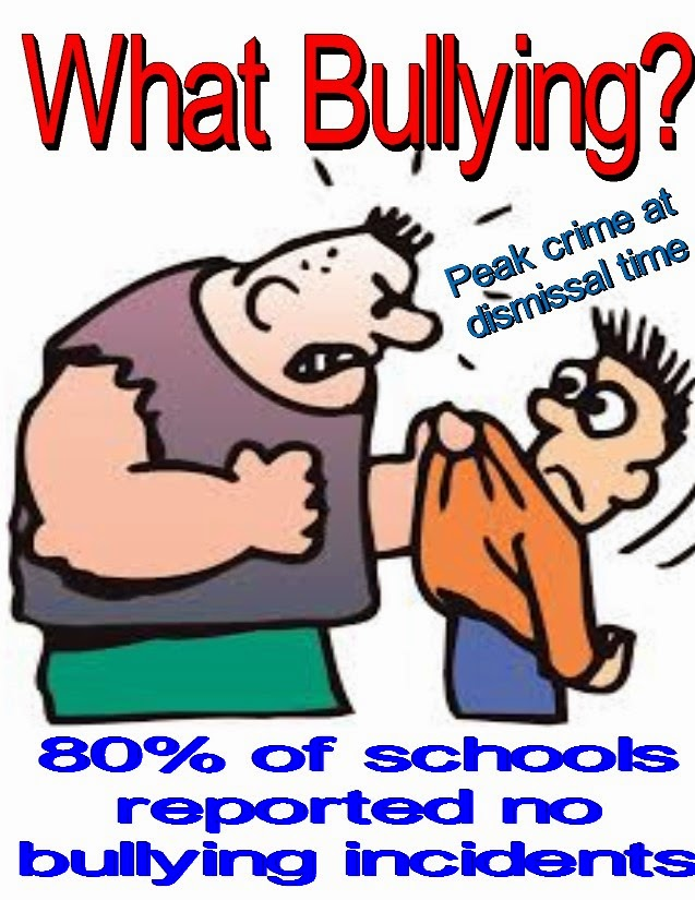 chaz s school daze no bullying in the schools but peak crime in the