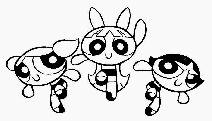 Halloween Powerpuff Girls Coloring Pages Free Printable Coloring Pages