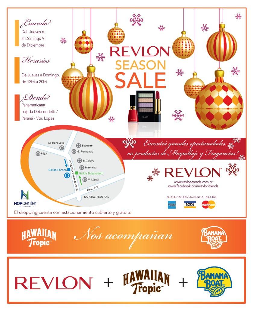 Outlet Revlon, productos, rebajas, dónde comprar, Buenos Aires, Argentina, diciembre 2012