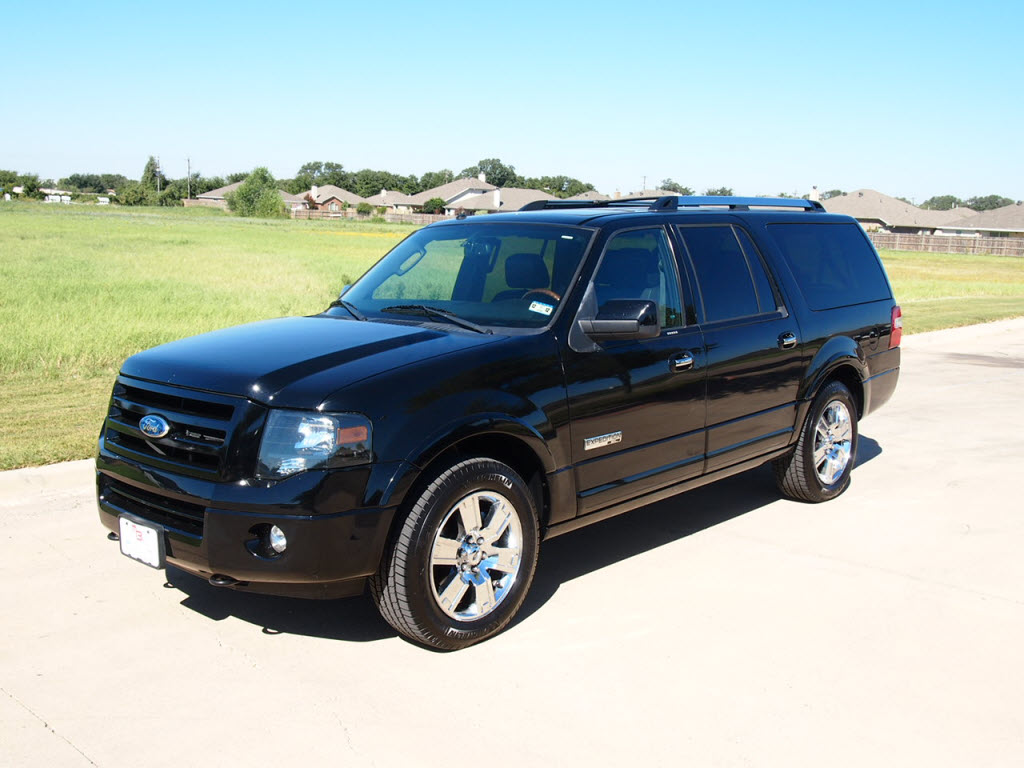 2008 ford expedition el limited 4x4 suv 48k miles 29 988 black loaded tdy sales new lifted. Black Bedroom Furniture Sets. Home Design Ideas
