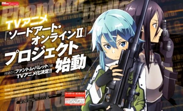[ Info-Anime ] Sword Art Online II Tayang Perdana Di Jepang Tanggal 5 Juli 2014