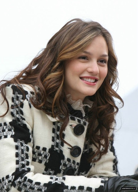 Fashion Is My Drug Leighton Meester Hairstyle