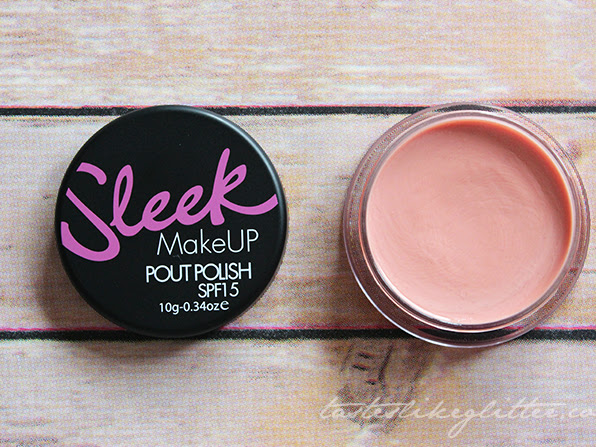 Sleek Pout Polish - Bare Minimum.