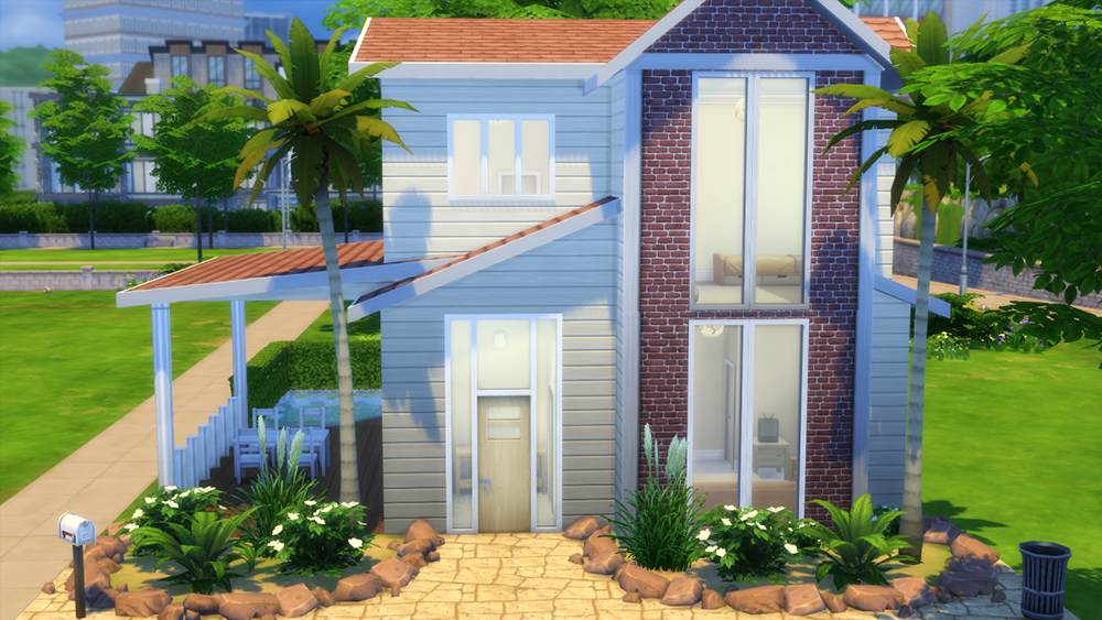 Summer Breeze House  Sims 4 Houses