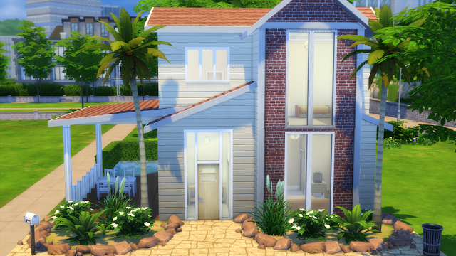 Sims 4 Summer Breeze House