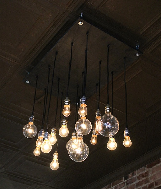 Classic with a twist industrial style defined Industrial style chandeliers