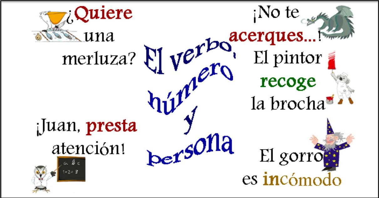 Persona y número de los verbos