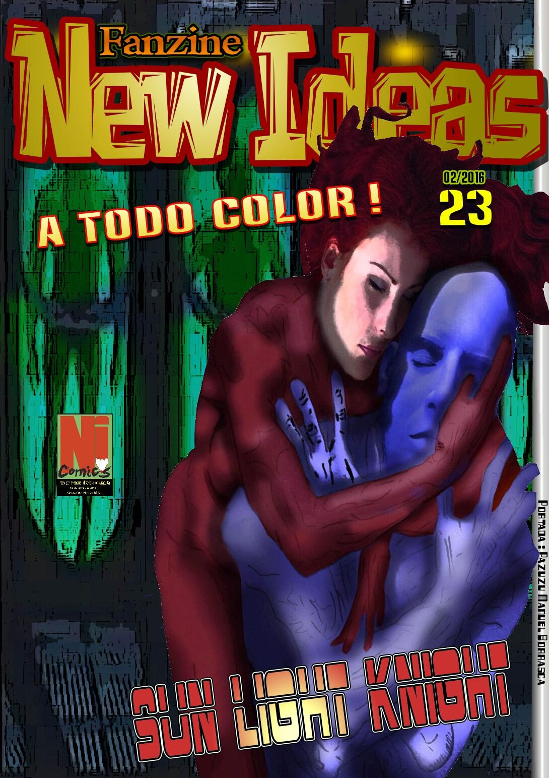 Actualización 19/01/2016: Marcos Idalgo nos trae el número 23 de la revista independiente New Ideas.