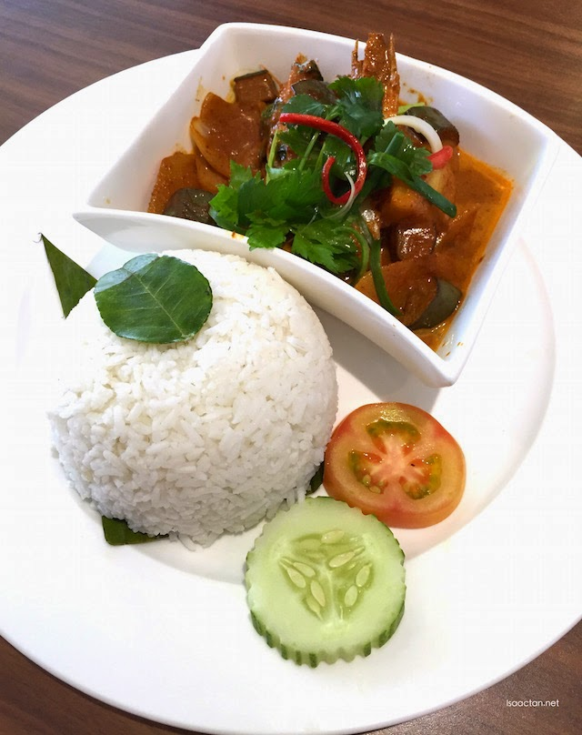 Red Curry Prawn -