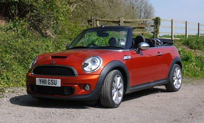 Mini Cooper SD Convertible front