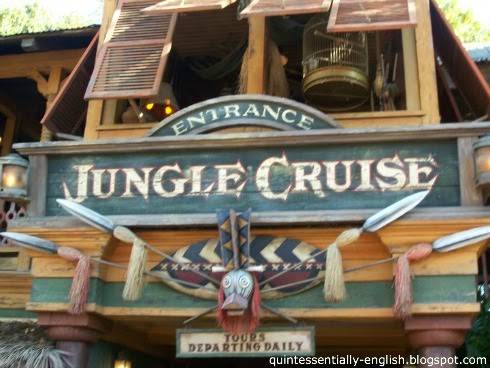Disneyland's Jungle Cruise in Adventureland