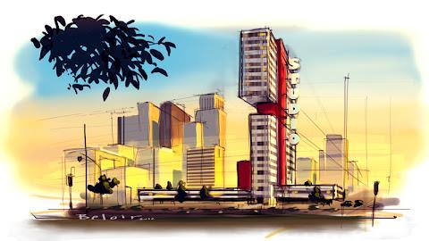 Francois Belair Location design corporate building