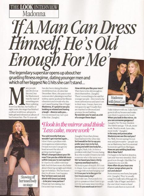 Interview Brief: Magazine interview layouts.