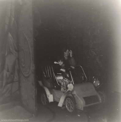 Mr. Toad's Wild Ride Original Disneyland 1960's dark ride old