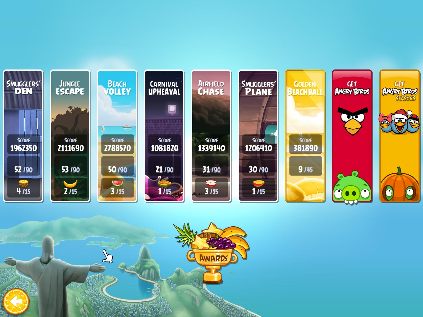 new and old pc games review angry birds rio. Black Bedroom Furniture Sets. Home Design Ideas